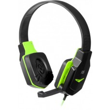 Наушники Defender Warhead G-320 Black-Green 1,8 м