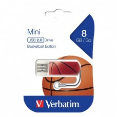 Verbatim USB Drive 8Gb Mini Graffiti Edition Basketball