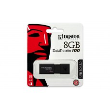 USB Флеш память Kingston 8 Gb (DataTraveler 100, USB 2.0, Black)