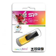 USB Флеш память Silicon Power 8 Gb (Ultima U31, USB 2.0, Yellow)