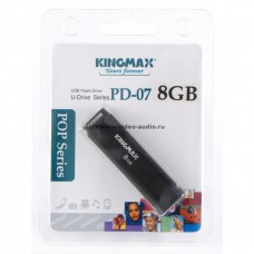 USB Флеш память Kingmax 8 Gb (PD-07, USB 2.0, Black)