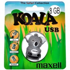 USB Флеш память Maxell 8 Gb (ANIMAL COLLECTION KOALA, USB 2.0)