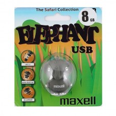 USB Флеш память Maxell 8 Gb (ANIMAL COLLECTION ELEPHANT, USB 2.0)